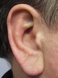 man ear