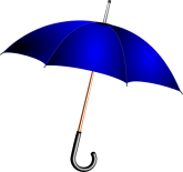 blue-umbrella-clipart-open-blue-umbrella-hi
